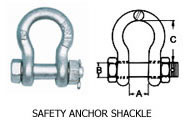 Wire Rope Anchor Shackle